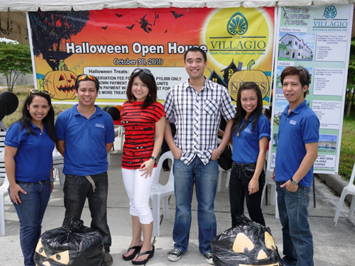 The Villagio Halloween Open House
