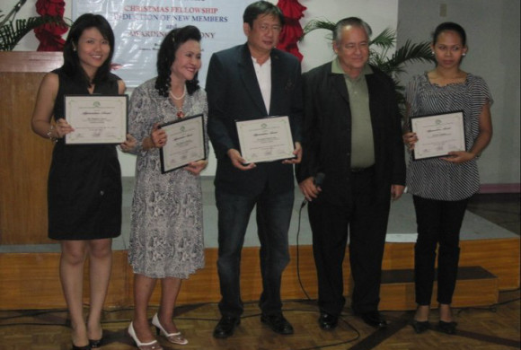 CREBA Christmas Party and Induction of New Members 2010