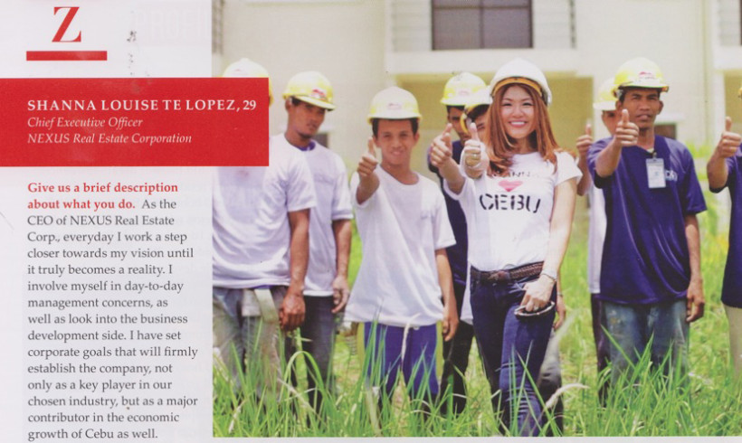 CEO Shanna Lopez featured in Zee Lifestyle Cebu