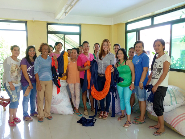 Livelihood Program for the Women's Association of Barangay Lawaan III