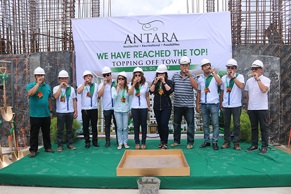 Antara Tower 1 Topping Off Ceremony