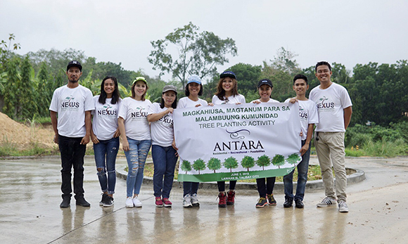Tree Planting and Mural Painting at Antara Condominium