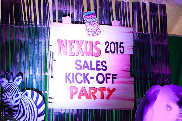 Nexus Jungle Safari Sales Kick Off Party 2015