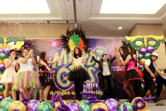 NEXUS Mardi Gras 2014