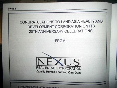 Landasia's 20th Anniversary