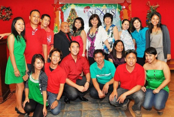 Christmas Party 2010 and Launching of New Projects